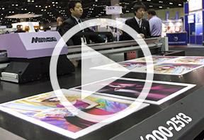 L'imprimante Mimaki JFX200 à découvrir en vidéo