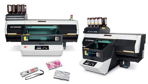 Imprimantes Mimaki UJF3042MkII et UJF6042MkII