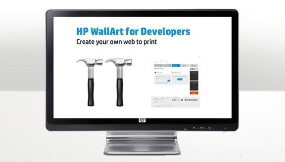 Intégrez HP WallArt à votre site web