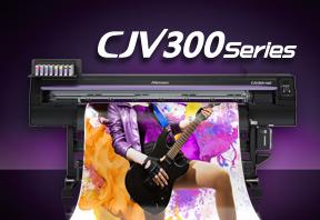 Nouvelle Mimaki CJV300 impression-découpe