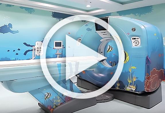 Décoration HP Latex d'un hôpital à Abu Dhabi