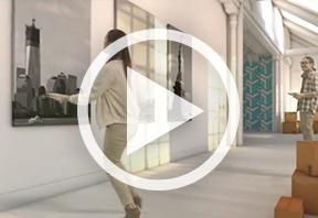 Découvrez en vidéo la solution HP WallArt