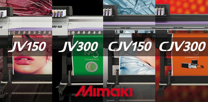 Nouvelles imprimantes Mimaki
