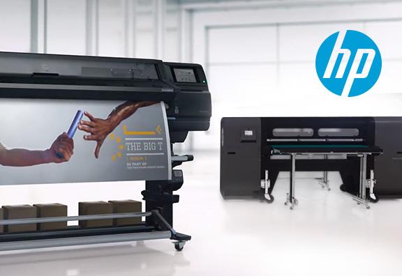 Nouvelles imprimantes HP Latex et HP Scitex