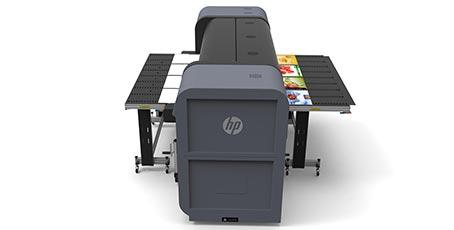 Flux de travail continu sur HP Scitex FB550