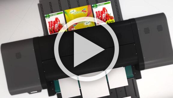 Vidéo HP Scitex FB550 & 750