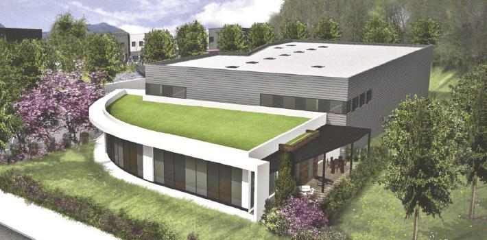 Nouveau bâtiment Euromedia à Savoie Hexapôle
