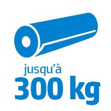 300kg ou 2 x 200 kg