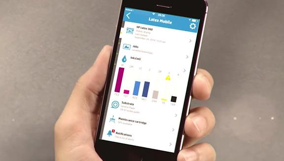 Application HP Latex Mobile