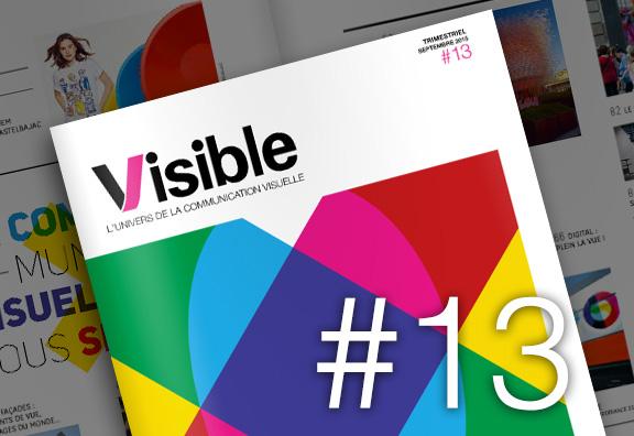Visible 13 sur l'expo de Milan