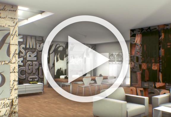 Vidéo HP décoration