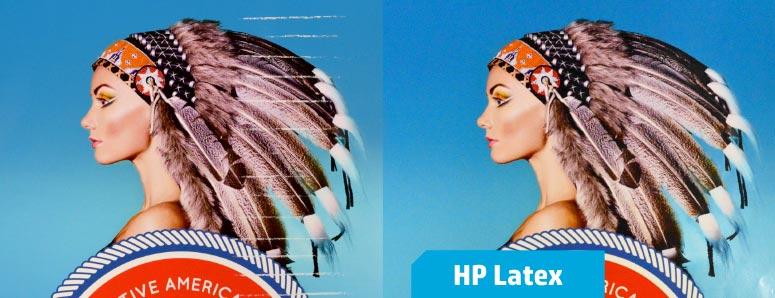 Anti-scratching HP Latex