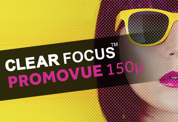 Film Microperforé PromoVue Clear Focus