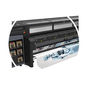 Freefall HP Latex 1500