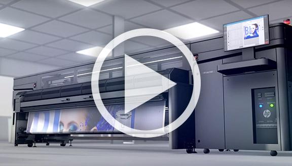 Video HP Latex 1500