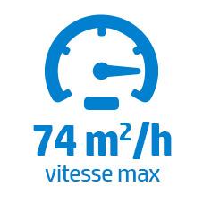 74 m2/h HP Latex 1500