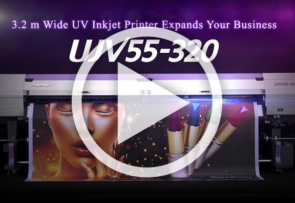 Découvrez en vidéo la nouvelle Mimaki UJV55-320