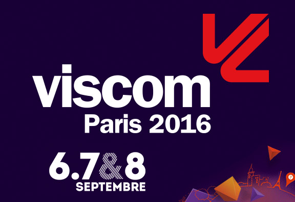 Viscom 2016 du 6 au 8 septembre à Paris
