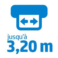 Laize 3,20 m