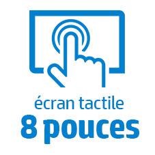 Ecran tactile 8 pouces