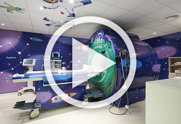 2 hôpitaux redécorés grâce à la technologie HP Latex
