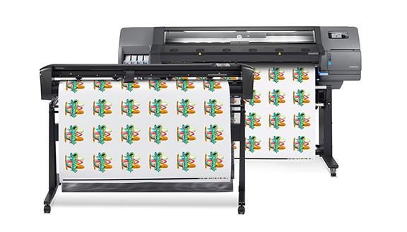 Impression et découpe HP Latex 315