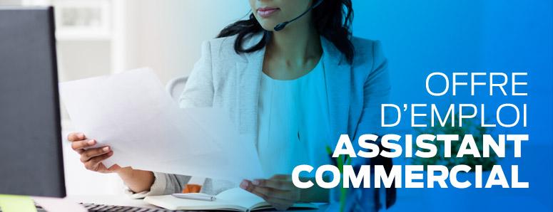assistant commercial recrutement