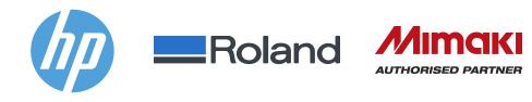 Distributeur HP, Roland DG & Mimaki