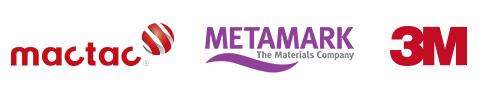 Distributeur Mactac, Metamark & 3M