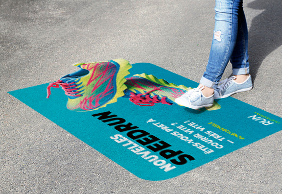 Habillez les sols avec les films floorgraphics Aslan