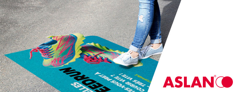 Films floorgraphics Aslan par Euromedia