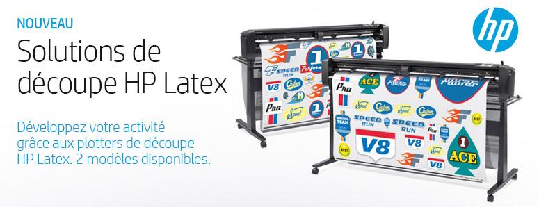 Solutions de découpe HP Latex