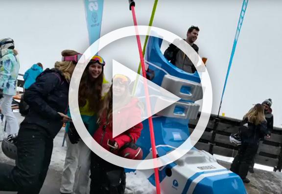 Chaussure de ski géante Massivit