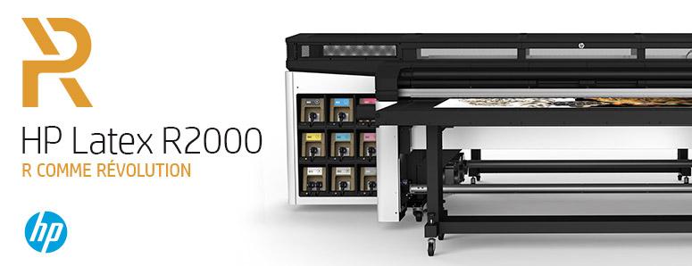 R comme revolution avec la HP Latex R2000