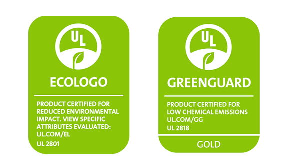 Encres HP Latex UL Ecologo et Greenguard