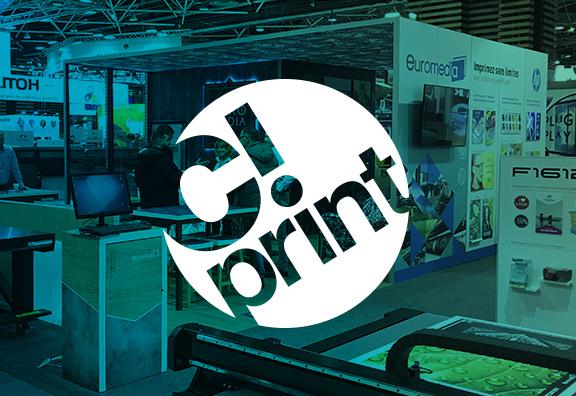 2 stands Euromedia à C!Print Lyon du 5 au 7 février 2019