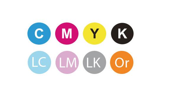 Configuration 8 couleurs
