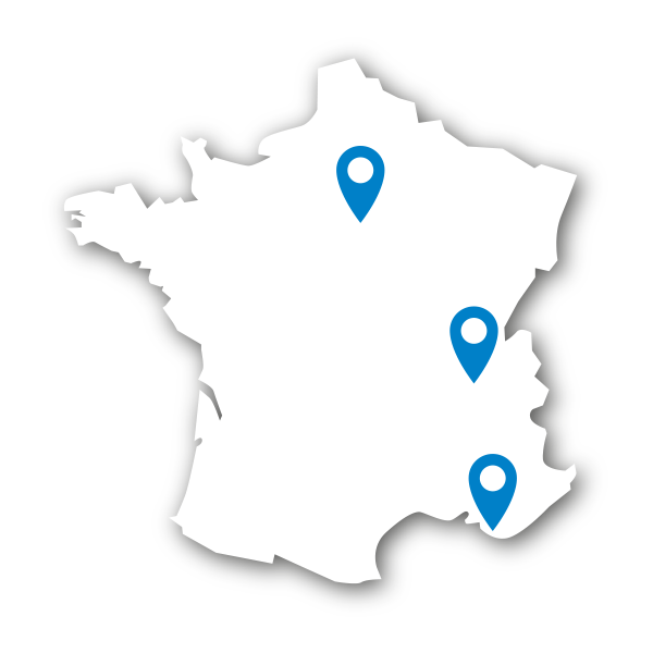 Carte France Euromedia