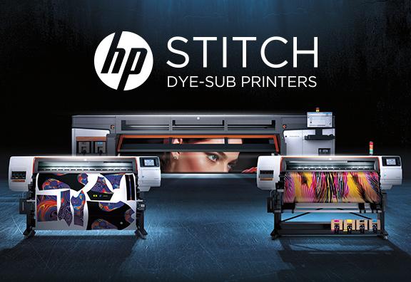 Nouvelle gamme HP Stitch pour l'impression textile