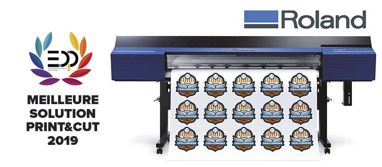 Meilleure solution Print & Cut pour la Roland TrueVIS VG2