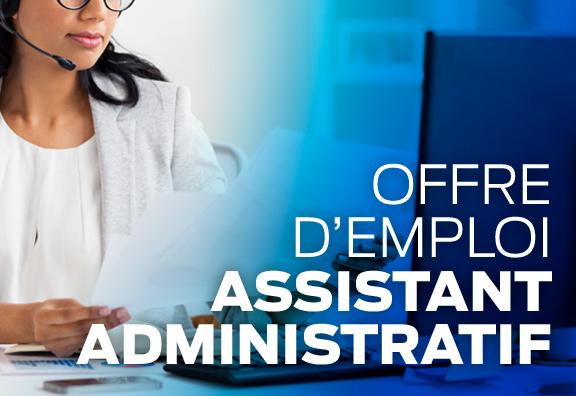 offre assistant administratif