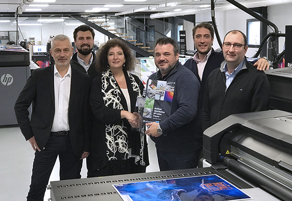 1er distributeur HP Latex France 2019