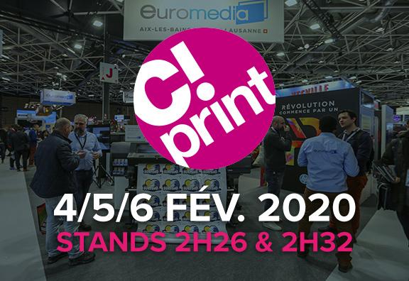 Euromedia à C!Print 2020