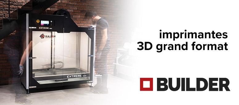 Imprimantes 3D Builder
