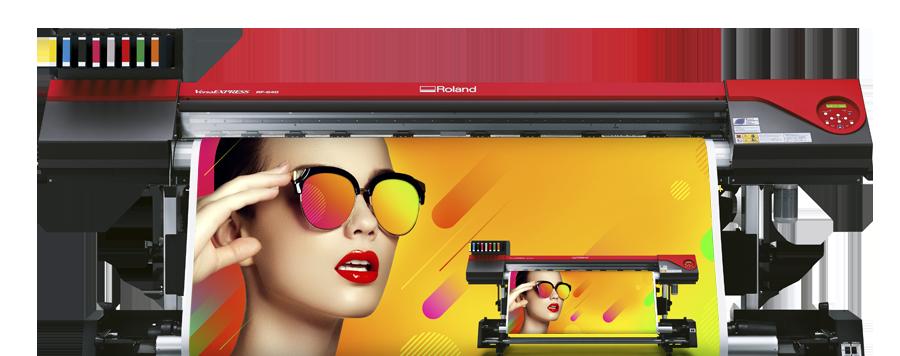 Roland VersaExpress RF-640 8 couleurs - Euromedia
