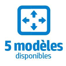 6 modeles Summa F