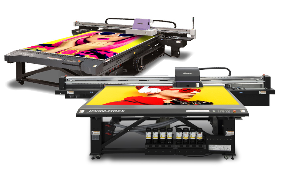Table à plat Mimaki JFX200 et JFX500