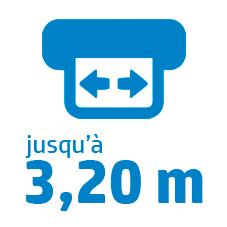 Laize S1000 : 3,20m