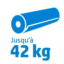 Poids rouleau S300 : 42 kg