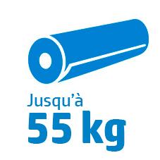 Poids rouleau S500 : 55 kg
